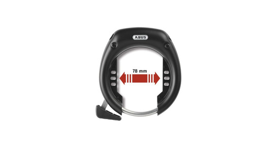 ABUS 5650 Shield LH-3 - Candado de cable - negro